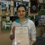 Получение сертификата по проектированию пассивного дома, 2015 г.