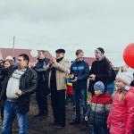 Открытие детской  площадки в деревне Кирилловка Арзамасского района, Нижегородской обл., 2015 г.