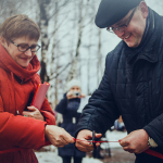 Открытие семейного сквера в рабочем посёлке Виля, городского округа города Выксы, 2015 г.