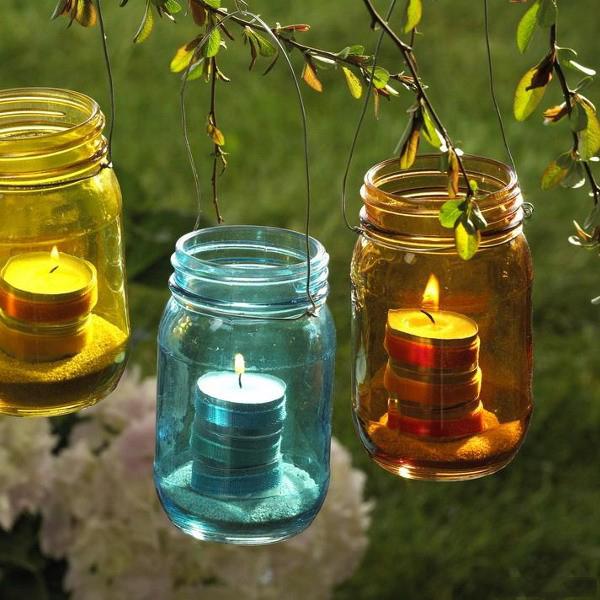 Как сделать фонарик для сада