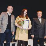 Награждение почетной грамотой от Совета Национального Объединения Проектировщиков, 2013 г.